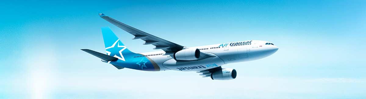 Air Transat vols pas cher vers le Canada